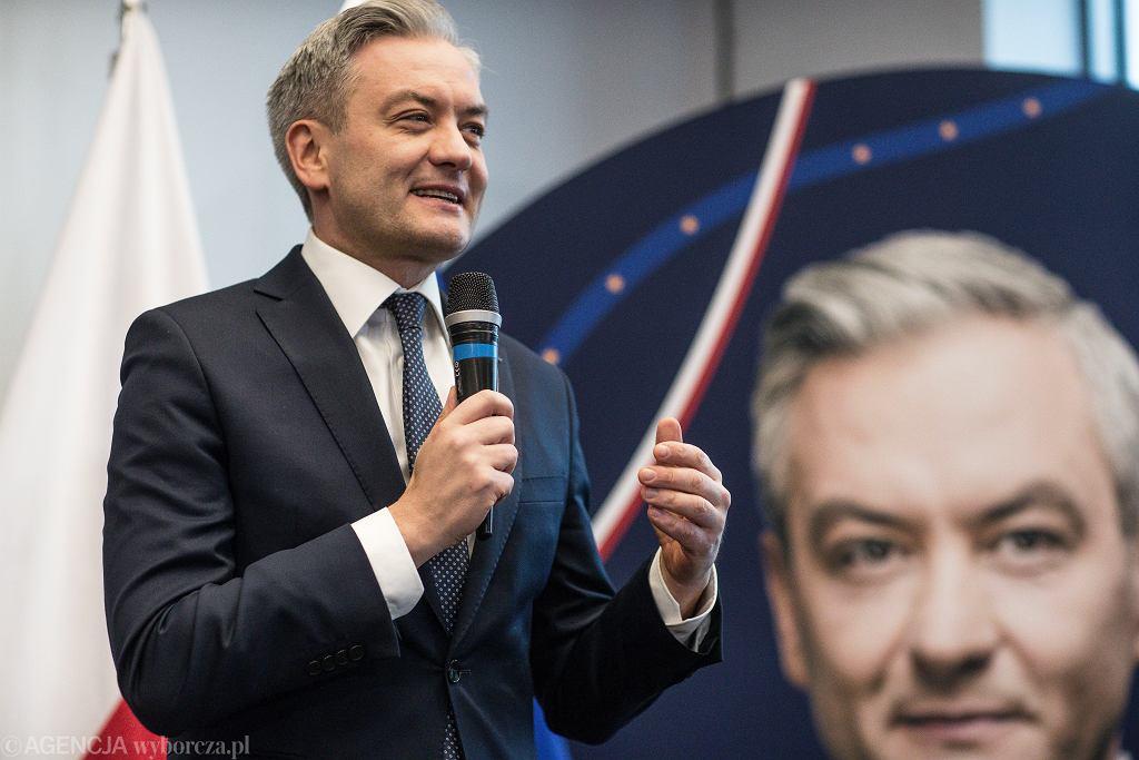Wybory 2020 - Robert Biedroń.