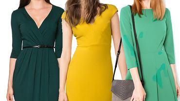 Najmodniejsze kolory sukienek na jesień