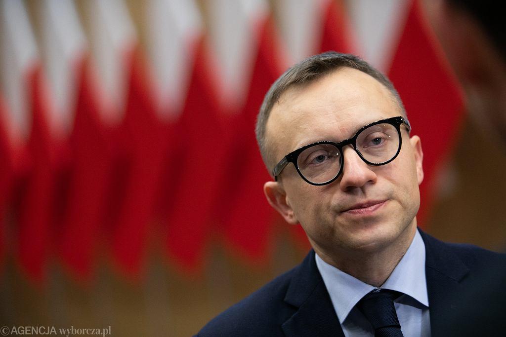 Artur Soboń mówił o powstaniu Krajowej Grupy Spożywczej