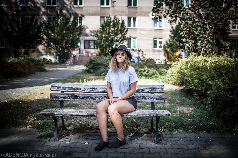 Justyna, lat 17, Warszawa, 2015 r.