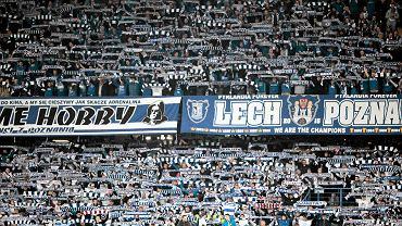 Lech Poznań - Śląsk Wrocław 0:1. Kibice Kolejorza