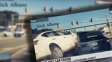 Wypadek Tesli Model X i Nissana Sentra