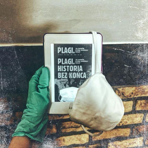Książka 'Plagi. Historia bez końca' w formie e-booka