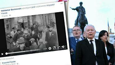 Senator PiS Waldemar Bonkowski udostępnił na Facebooku antysemickie treści