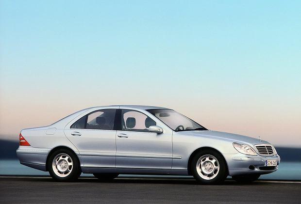 Mercedes W220 - S 320 CDI była najchętniej kupowaną S klasą