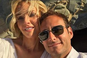 Magdalena Mielcarz z mężem