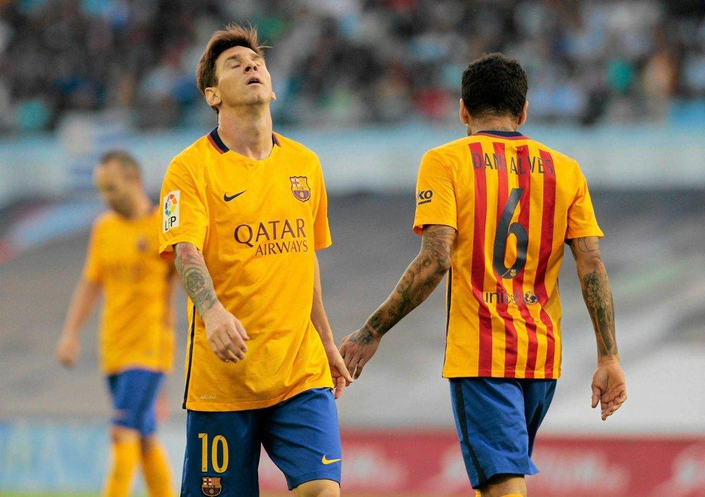 Celta Vigo - FC Barcelona 4:1. Leo Messi