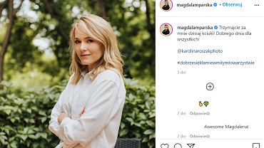 Magdalena Lamparska pokazała zdjęcie sprzed 10 lat