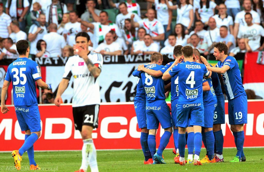 Legia Warszawa - Lech Poznań 1:2