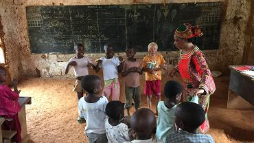 Fundacja Serce dla Afryki pomaga dzieciom z ubogich regionów m.in. Kamerunu, Czadu i Republiki Środkowoafrykańskiej