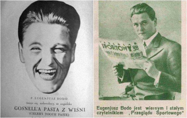 Reklamy z udziałem Eugeniusza Bodo
