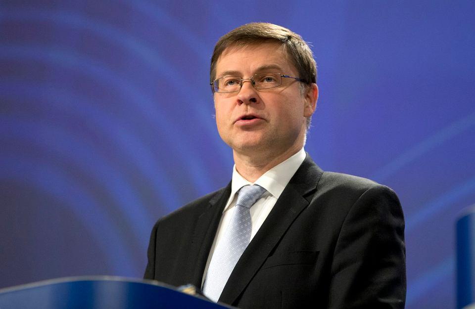 Wiceprzewodniczący Komisji Europejskiej Valdis Dombrovskis