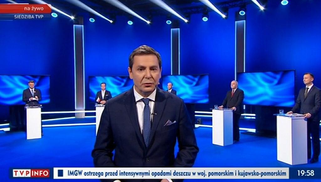 Debata wyborcza w TVP