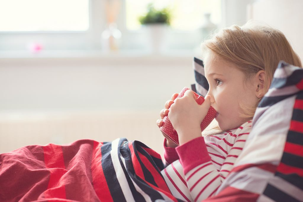 Stan zapalny może objawiać się gorączką i złym samopoczuciem