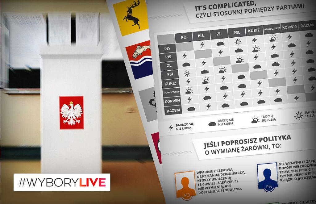 Infografika wyborcza