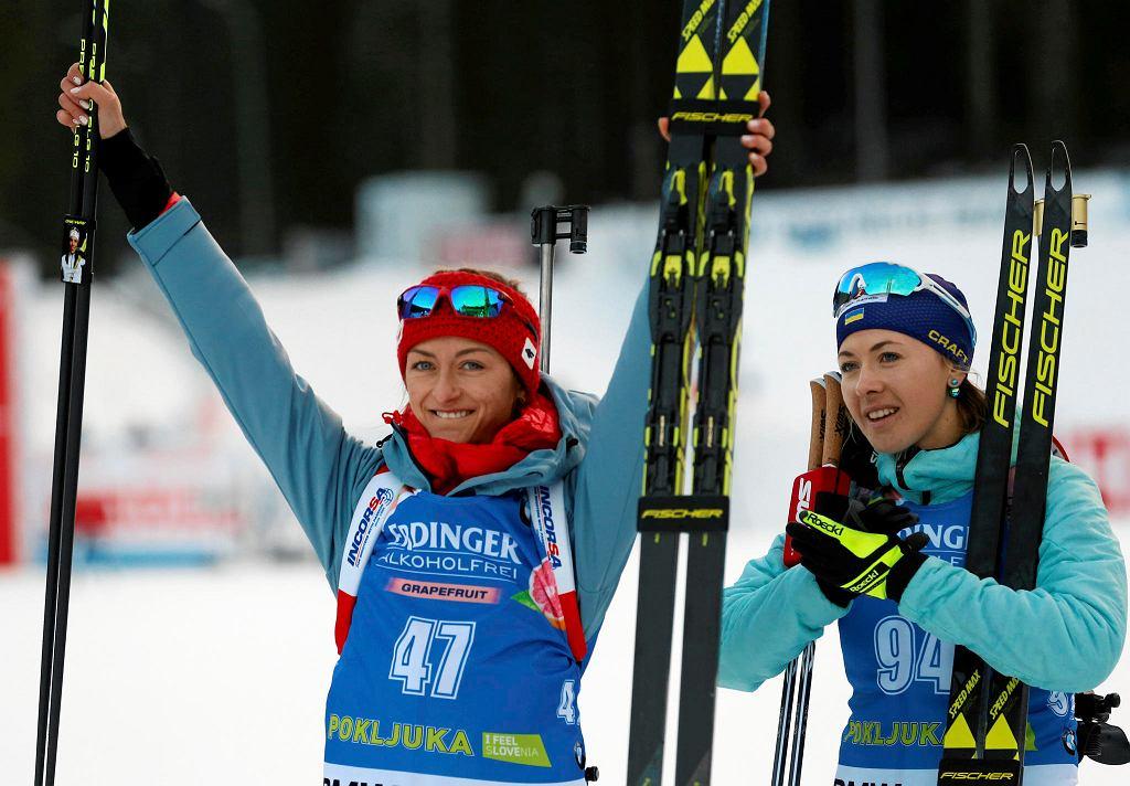 Monika Hojnisz i Julia Dżyma