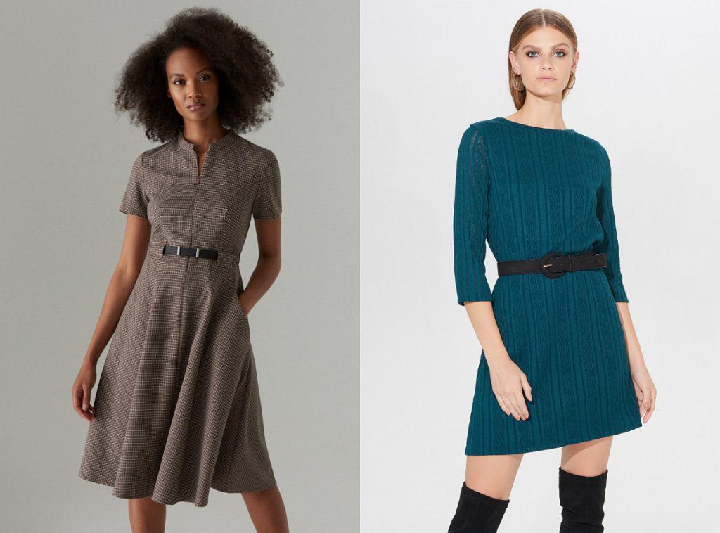 Sukienki na jesień do pracy