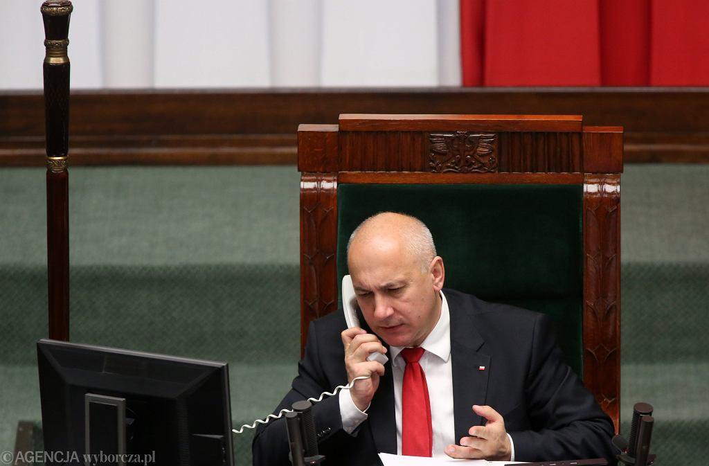 Wicemarszałek Joachim Brudziński