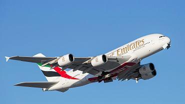 Diamentowy samolot linii Emirates stał się hitem Internetu