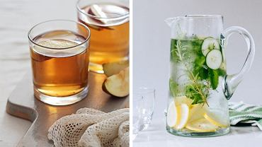 Woda z cytryną wypita rano podkręca metabolizm.