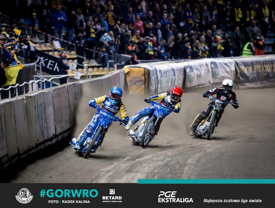 Niedziela, 4 października 2020 r. Żużlowa PGE Ekstraliga, półfinał play-off: Moje Bermudy Stal Gorzów - Betard Sparta Wrocław 55:34