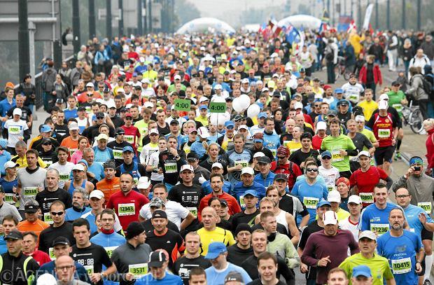 29.09.2013 Warszawa . 35 PZU Maraton Warszawski . Fot . Kuba Atys / Agencja Gazeta SLOWA KLUCZOWE: maraton bieg sport BIeganie /FR/