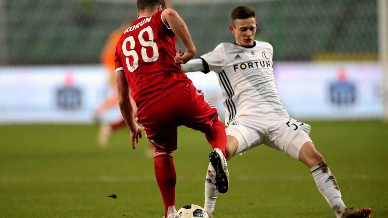 Legia - Piast 2:0. Sebastian Szymański