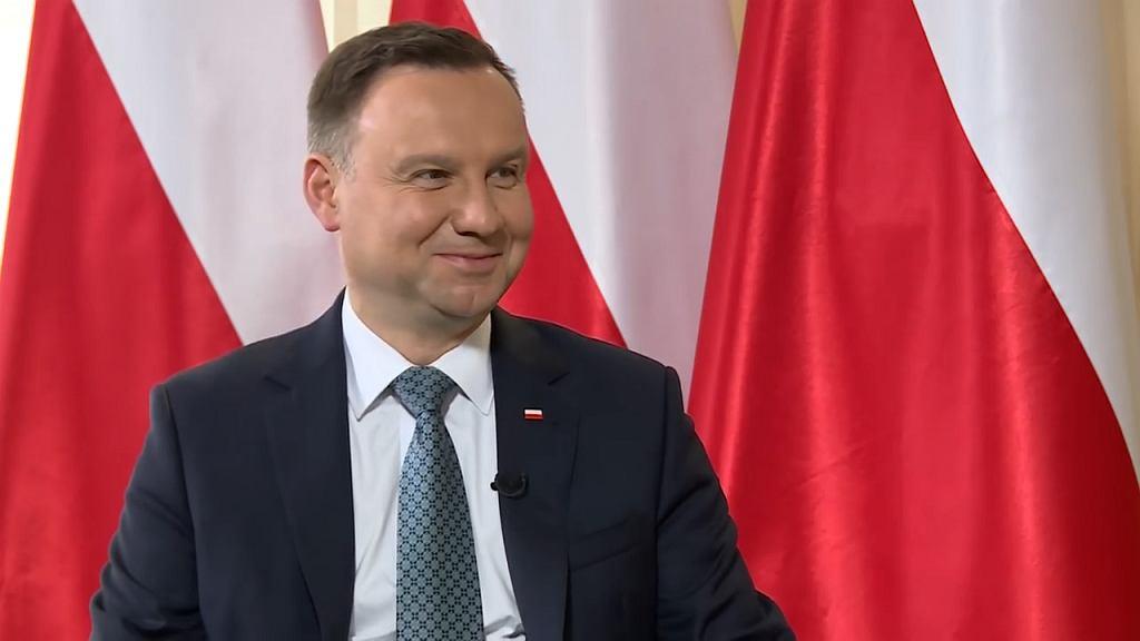 Andrzej Duda w TV Republika