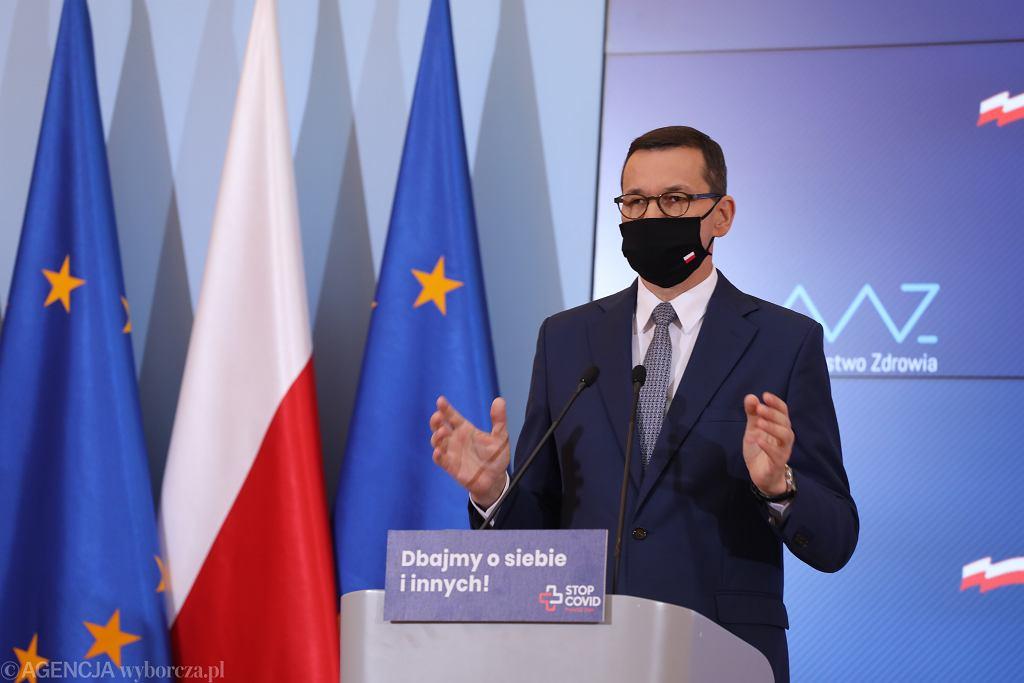 Morawiecki porozmawia z przedstawicielami opozycji o epidemii koronawirusa. Telekonferencja we wtorek