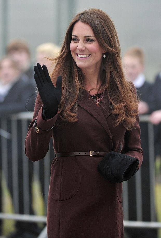 Kate Middleton z wizytą w Grimsby
