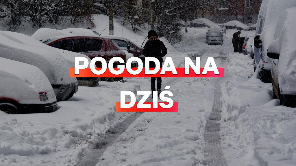Prognoza pogody na dziś - piątek 4 stycznia. W całym kraju może spaść śnieg