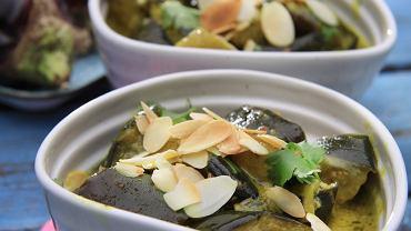 Curry z bakłażanów