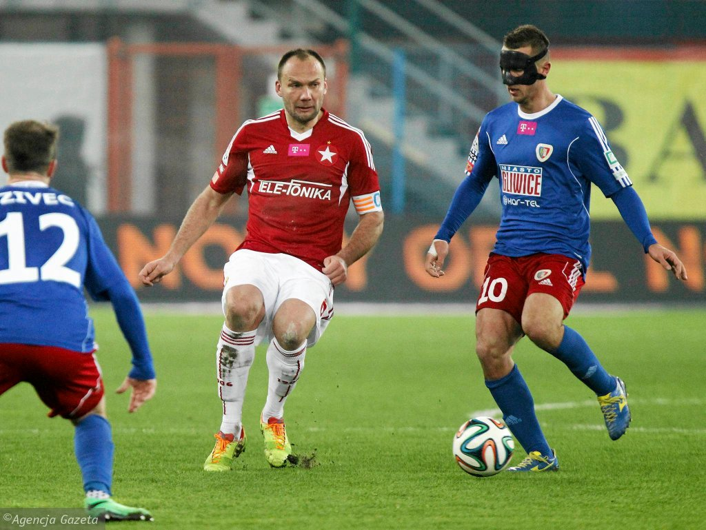 Piast - Wisła 0:0 w meczu ligowym