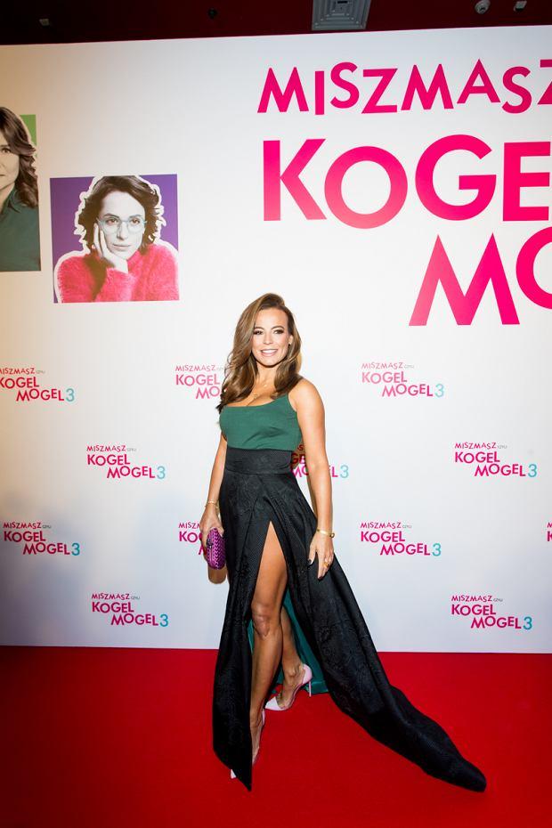 Anna Mucha na premierze filmu Kogel Mogel