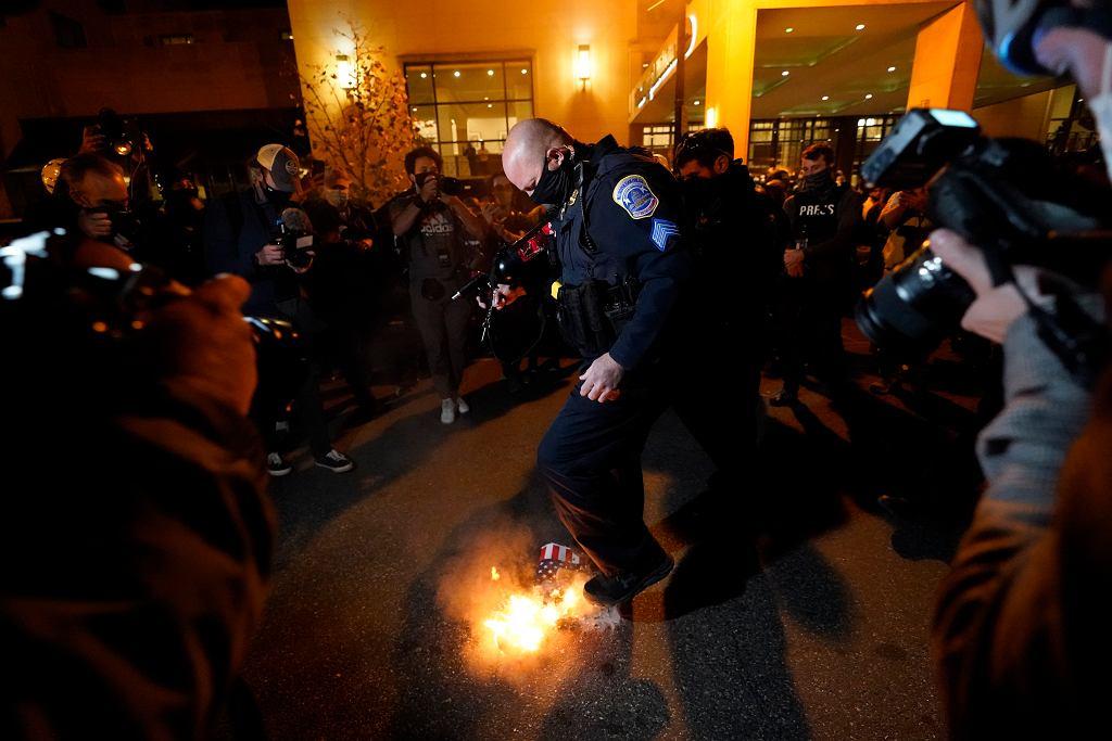 Election 2020 Protests Washington