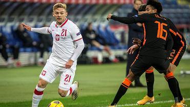 Kamil Jóźwiak opisał starcie na treningu w Derby County.