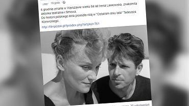 Nie żyje Irena Laskowska (zdjęcie ilustracyjne)