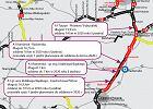 Autostrada A1 - otwarto nowy fragment na granicy województw