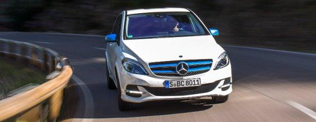 Mercedes B Electric Drive