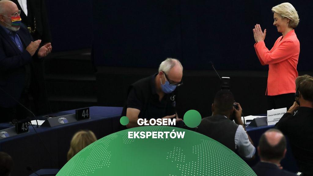 Wiceszef Komisji Europejskiej Frans Timmermans jest odpowiedzialny za Zielony Ład