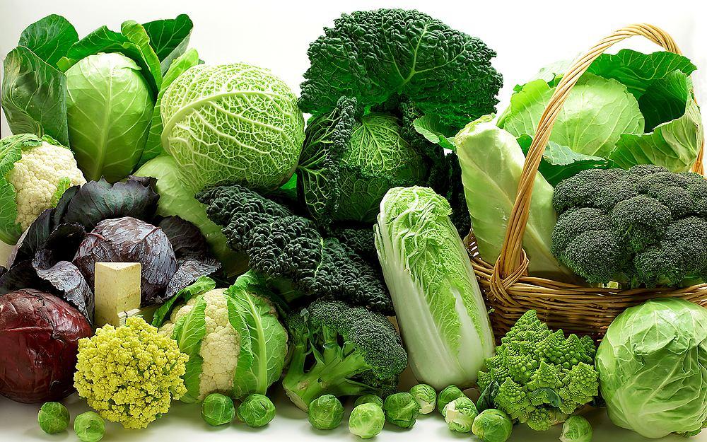 Zielone warzywa są cennym źródłem witamin i minerałów