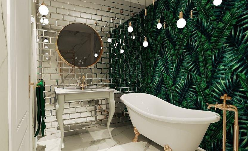 Tapety 3d do łazienek - jakie wybrać?