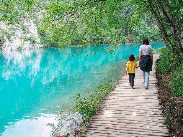 Chorwacja, Jeziora Plitvickie wpisane na listę UNESCO / fot. Shutterstock