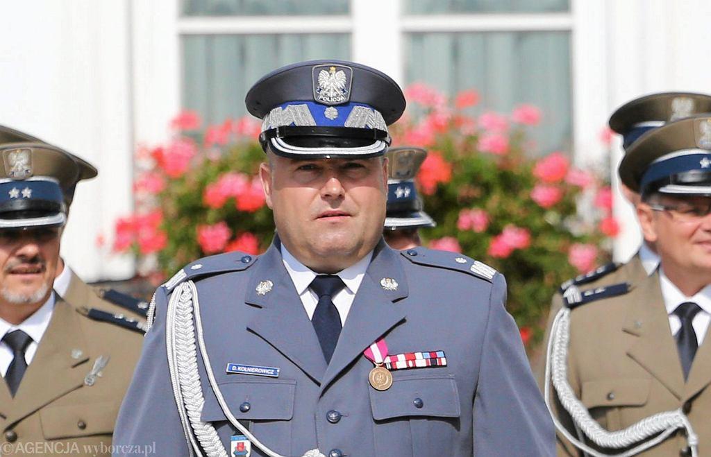 Daniel Kołnierowicz podczas uroczystości wręczenia aktu mianowania na generała. Warszawa, Belweder, 2 września 2016