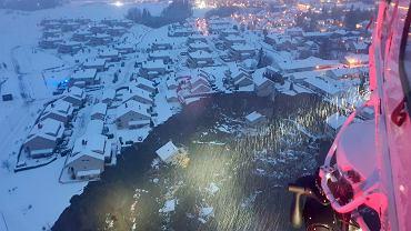 Norwegia. Osuwisko w Gjerdrum