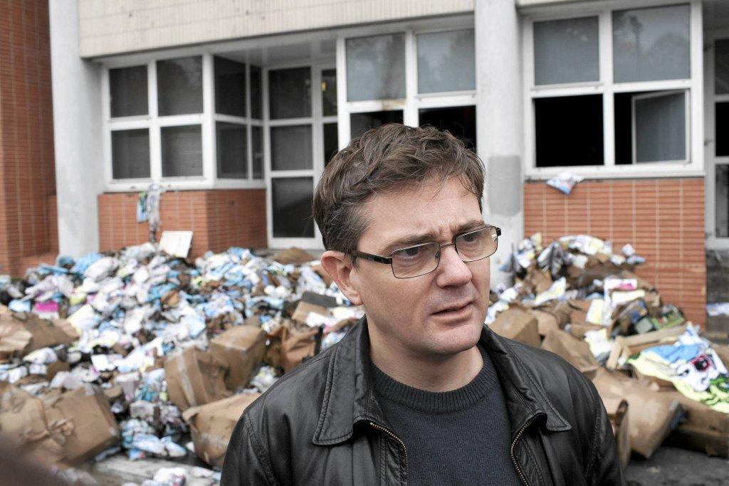 Charb, jeden z zamordowanych rysowników