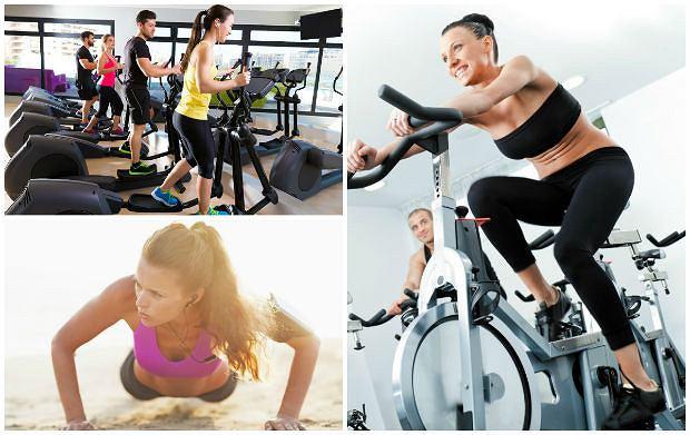Na spalanie niechcianego tłuszczyku najczęściej polecany jest trening aerobowy.
