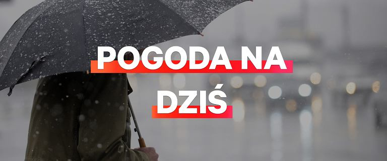 Pogoda na dziś - poniedziałek 25 marca. Deszcz i deszcz ze śniegiem w całym kraju
