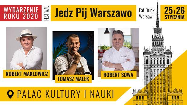 """""""Jedz Pij Warszawo""""- tradycja i nowoczesność czyli kulinarna kultura stolicy"""