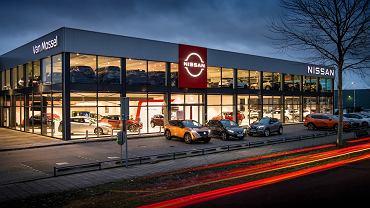 Nissan wprowadza nowe logo w sieci dealerów na terenie Europy